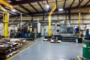 Doosan and Haas Machining Equipment